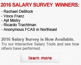 2016 Actuarial Salary Survey Winners.  Also check out our 2016 Interactive Salary Survey Tools.  These tools show both U.S. and global actuarial salary data and trends.