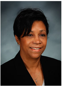 Bonnie Ten-Pow, V.P. of Administrative Services
